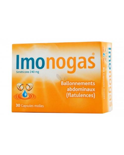imonogas (120 mg 20 capsulas blandas )