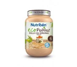 NUTRIBEN ECOPOTITO POLLO C/VERDURAS 250G