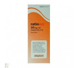 RATIODOL (20 MG/ML SUSPENSION ORAL 200 ML )