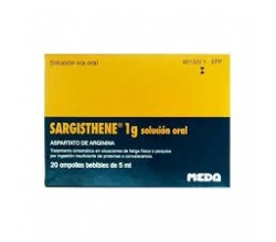 SARGISTHENE (1 G 20 AMPOLLAS BEBIBLES 5 ML )