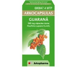ARKOCAPSULAS GUARANA (340 MG 100 CAPSULAS )