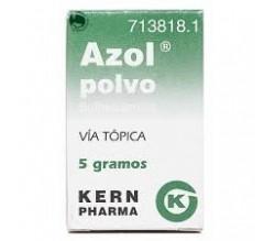 AZOL POLVO (POLVO TOPICO 5 G )
