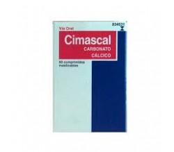 CIMASCAL (1500 MG (600 MG CA) 60 COMPRIMIDOS MASTICABLES )