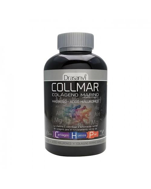collmar colágeno marino + magnesio + ac. hialuronico 180 caps